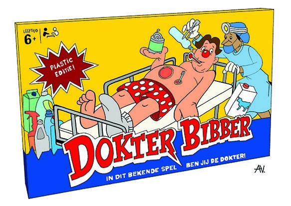 Dokter bibber plastic editie