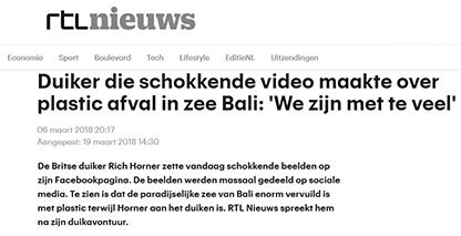 Duiker Bali RTL nieuws