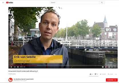 Erik van Sebille in DUIC