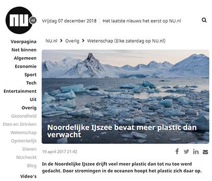 plastic in het noordpoolgebied nu.nl